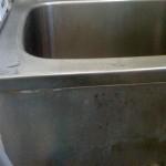 石鹸カス付きの浴槽